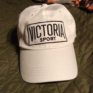 white Victoria Sport logo dad hat